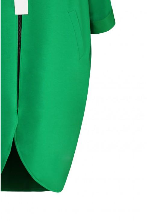 zielona bluza xxl detal