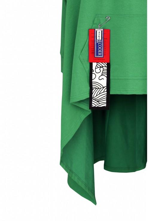 bluza długa zieleń xxl