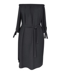 Czarna sukienka hiszpanka Elena