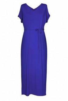 Chabrowa dzianinowa sukienka maxi MELISSA