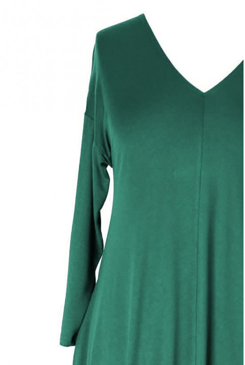 zielona sukienka xxl