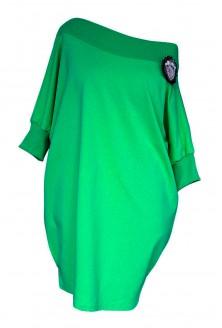 Zielona tunika hiszpanka