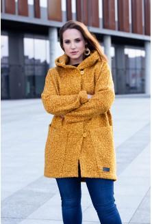 Płaszcz oversize w dużych rozmiarach