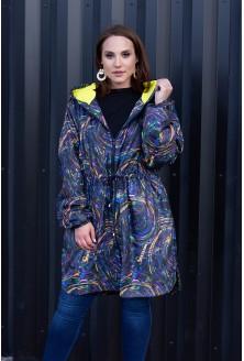 Kolorowa kurtka płaszczyk xxl
