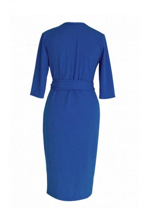 Chabrowa sukienka xxl