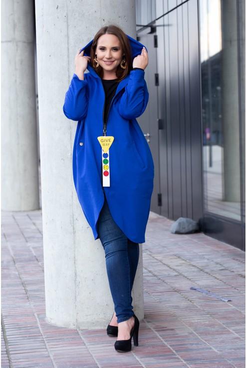 Bluza Lara - kolor chabrowy