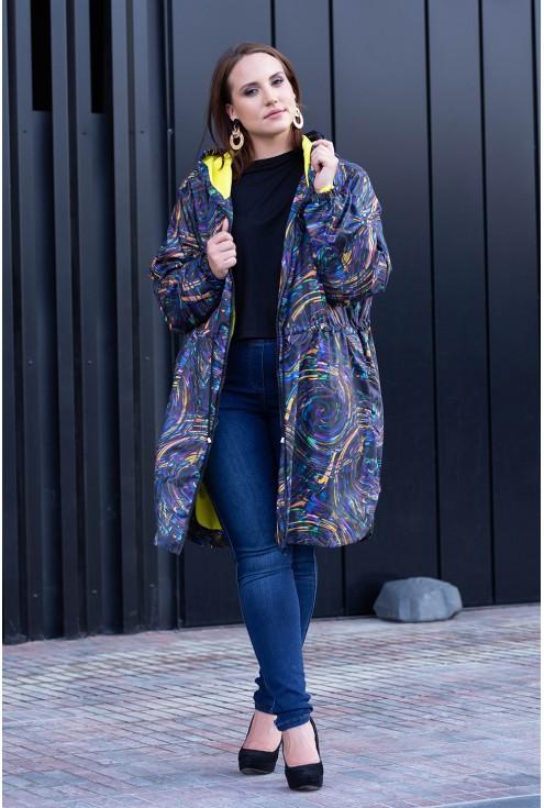 Kolorowa kurtka Rachel - przód