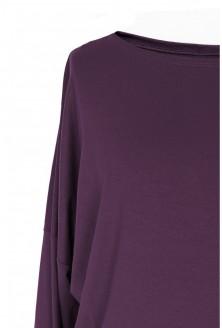 Bluzka tunika oberżyna xxl