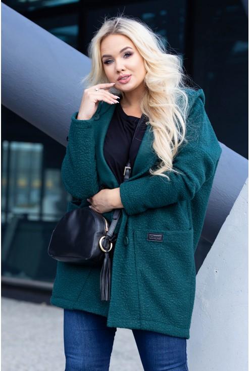 Zielony płaszcz xxl
