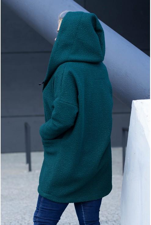 Płaszcz z kapturem xxl
