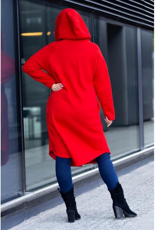 Dresowy płaszcz dla kobiet w dużym rozmiarze w sklepie XL-ka