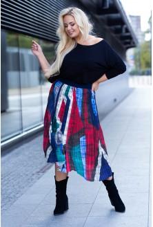 Spódnica plisowana duże rozmiary