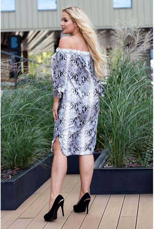Sukienka hiszpanka xxl plus size