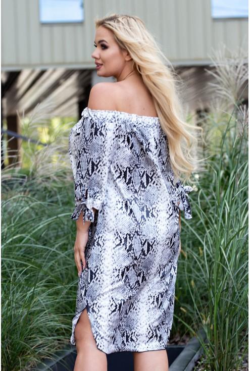Sukienka hiszpanka dla kobiet w dużym rozmiarze