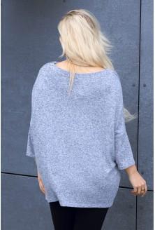 Luźny sweterek xxl dla kobiet