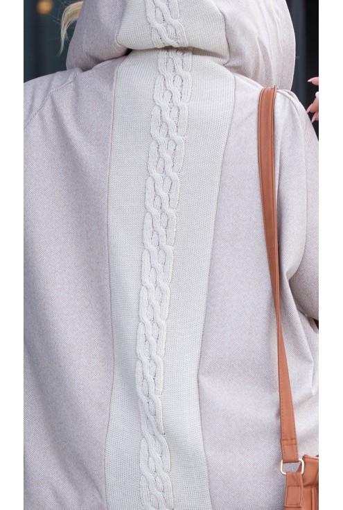 Sweterek xxl w dużych rozmiarach dla kobiet plus size