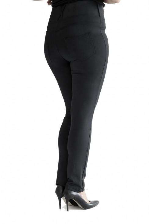 czarne legginsy duże rozmiary