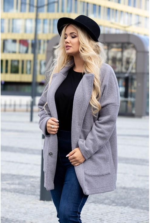 Płaszcz w dużych rozmiarach dla kobiet