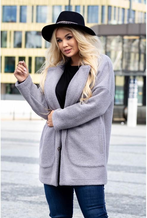 Płaszcz oversize dla kobiet