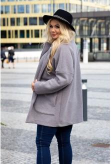 Płaszcz na co dzień w dużym rozmiarze
