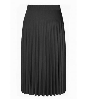 Czarna spódnica plisowana - RONI