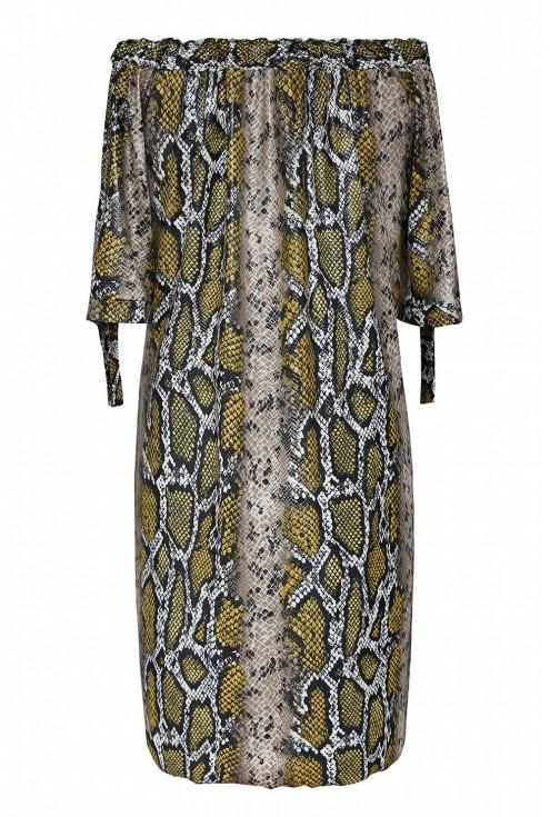 Sukienka z wzorem duże rozmiary