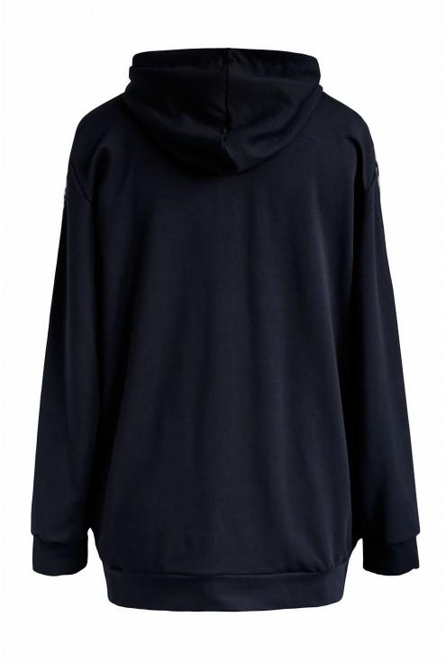 Bluza z lampasem xxl