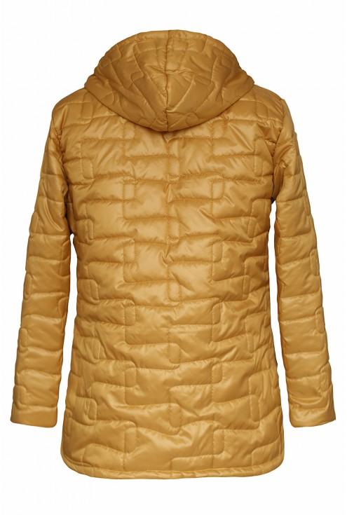 pikowana kurtka - tył