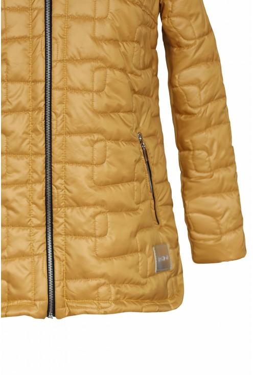 pikowana kurtka - dół