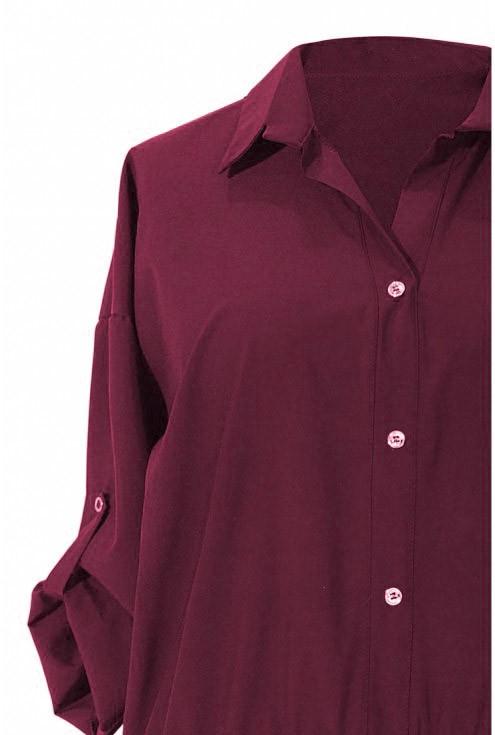 koszula z falbanką duże romziary
