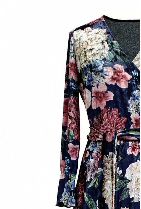 detal przód sukienki