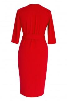 Czerwona sukienka duże rozmiary