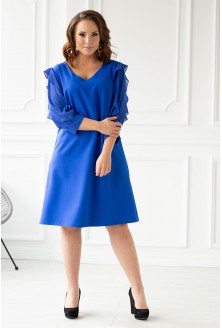 Chabrowa sukienka plus size