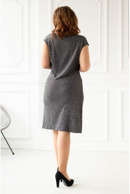 Błyszcząca sukienka duże rozmiary  xxl