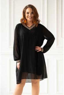 Czarna sukienka duże rozmiary