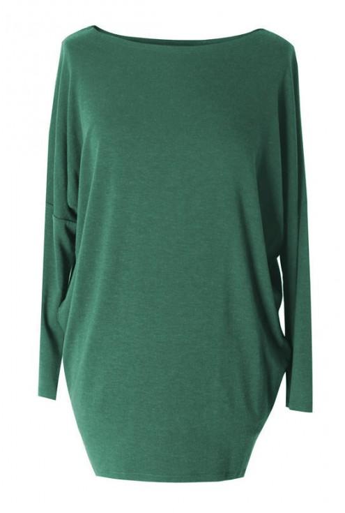 Butelkowa bluzka tunika xxl