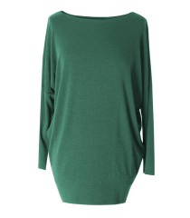 Butelkowa bluzka tunika BASIC (ciepły materiał)