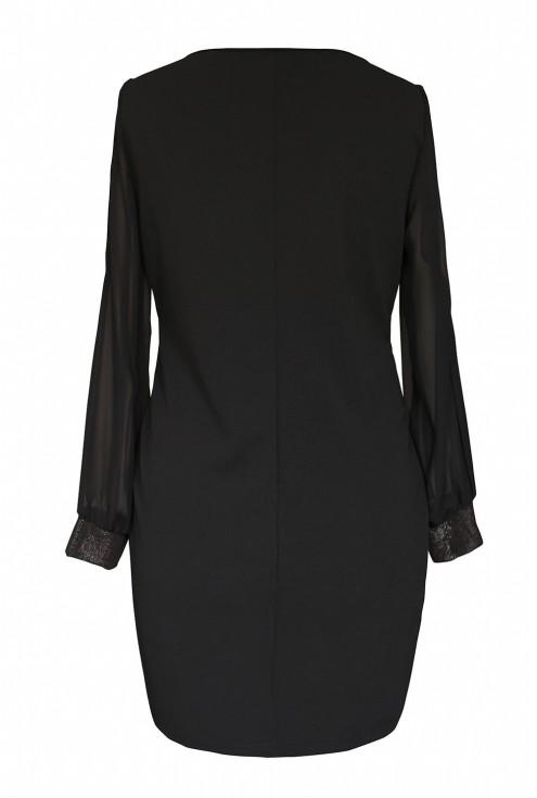 Sukienka mini czarna xxl