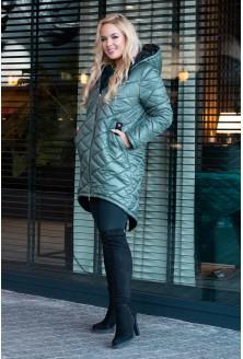 Długa kurtka pikowana xxl