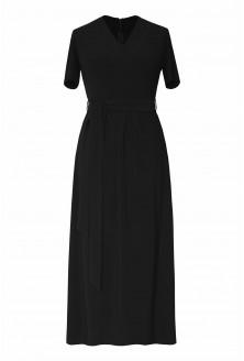 czarna sukienka kopertowa xxl