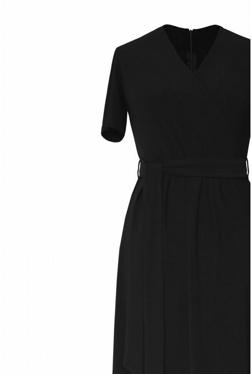 Czarna sukienka xxl