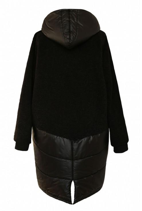 Czarna zapinana bluza xxl