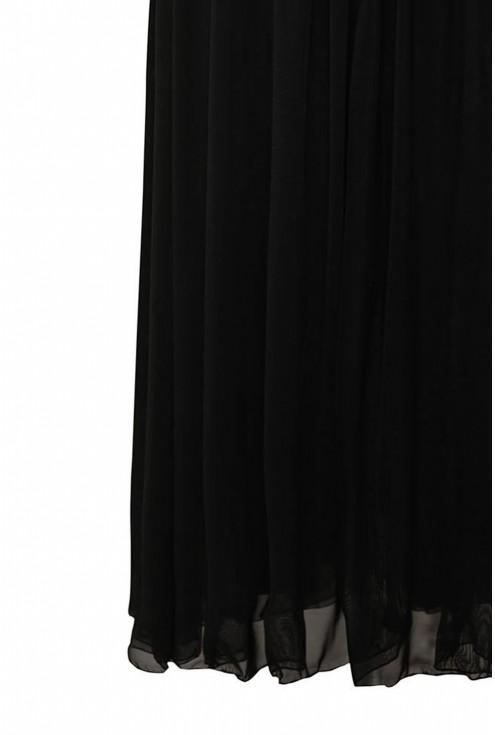 Czarna tiulowa spódnica plus size