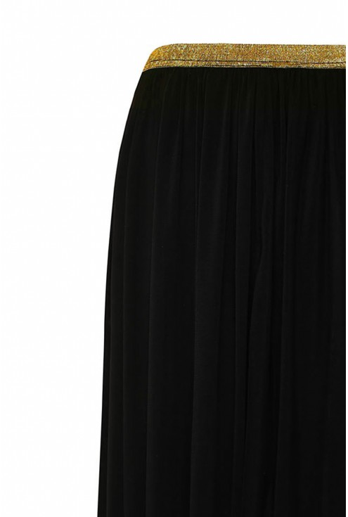 Czarna tiulowa spódnica duże rozmiary
