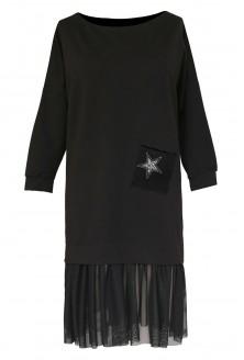 czarna tunika ines