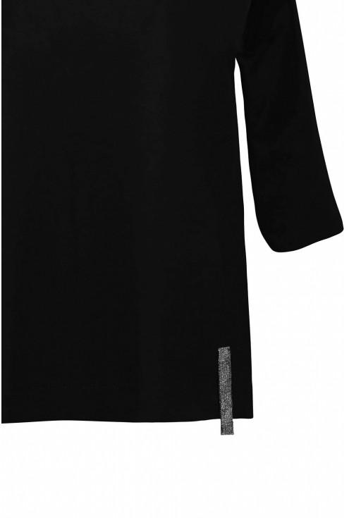 czarna bluzka w dużych rozmiarach