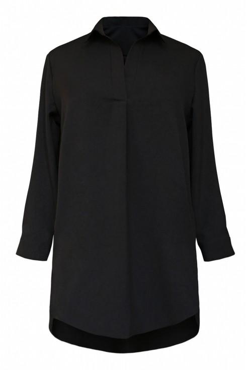 Czarna tuniko - koszula - SUSANNY