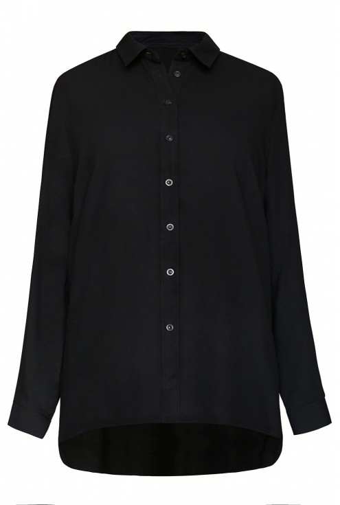 czarna koszula PAMELA - duże rozmiary