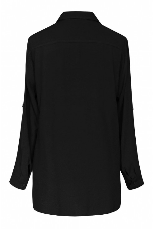 Czarna koszula damska PAMELA