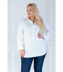 Biała tuniko - koszula - SUSANNY